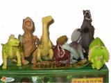 Дракон Динозавр тянучки (насыпн резиновые) 92150Л