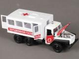 модель Урал передвижной госпиталь Технопарк СТ10-104-6 в/к 115165